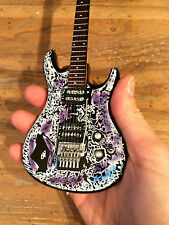 Officially Licensed Joe Satriani Ibanez Flying in a Blue Dream Miniature Guitar