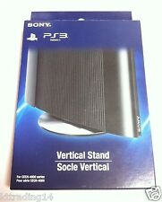 SONY Official PS3 Super Slim Metal Vertical Console Base Stand - NEW - GENUINE