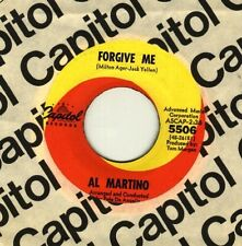 Al Martino - Forgive me / What now, my love- GUARANTEED ORIGINAL - NEW OLD STOCK