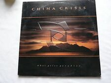China Crisis - What Price Paradise - LP Album A&M  SP 5148