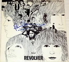 THE BEATLES PAUL MCCARTNEY HAND SIGNED AUTOGRAPHED REVOLVER ALBUM! RARE! W/PROOF