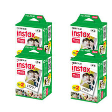 80 Sheets Fujifilm Instax Instant Mini Film for Fuji 25 50s 7s 8, 90 & Mini 300