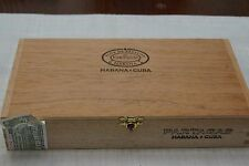 Patagas Wooden Cigar Box All Original Labels and Markings