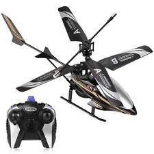 Outdoor Remote Control 2 Channel Electric LED Head Light  RC Helicopter Toy WST