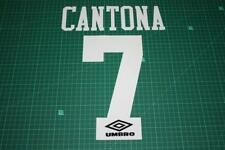 - Flocage CANTONA pour maillot MANCHESTER UNITED  patch football -