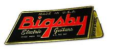 Original Bigsby Electric Guitars Embossed Sticker NEW OLD STOCK!