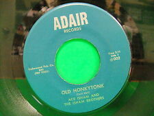 Ace Isham Old Honkytonk / Me Without You 60s 45 Adair 002 North Little Rock AR