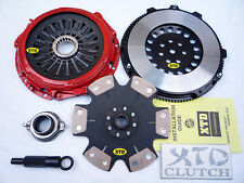 XTD STAGE 4 CLUTCH & PRO-LITE FLYWHEEL KIT 2001-2007 MITSUBISHI LANCER EVO 7 8 9
