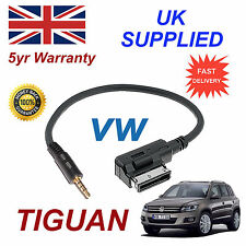 Genuine VW TIGUAN MMI 000051446D 3.5mm jack MP3 iPod in car Cable replacement