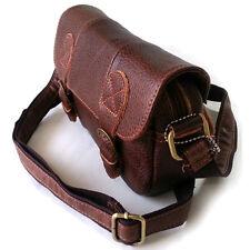 NEW Brown  Messenger Shoulder Bag Passport Camera Bag