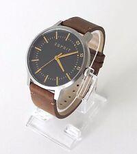 Esprit Herren Uhr Evan Leder braun ES108271001 watch orologio reloj montre