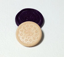 Silicone Mold Oreo Cookie Mould (44mm) Resin Fondant Clay Chocolate Soap Candy