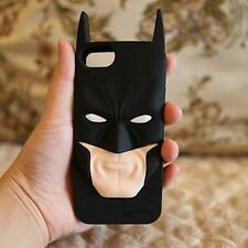 3D Superhero Batman Silicone Back Cover Case For iPhone 5s