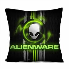 "ALIENWARE Decorative Throw Pillow Case Cushion 18"" Zippered Cover"