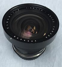 Leica Elmarit-R 19mm f/2,8 Made in Canada lens modified to Canon EOS mount