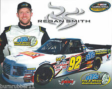 "2017 REGAN SMITH ""BTS TIRES & WHEEL"" #92 NASCAR CAMPING WORLD TRUCK POSTCARD"