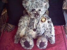 CHARLIE BEARS TIMMY LOVELY BEAR WITH BAG AND TAGS