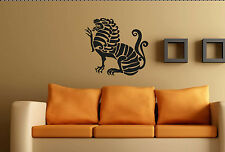 TRIBAL WALL ART no3. Custom decal vinyl sticker Large Aztec Mayan Mural transfer