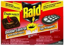 Raid Double Control Small Roach Baits - Egg Stoppers 15 ea