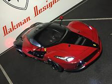 CUSTOM RC TAMIYA 1/10 LaFERRARI  TOURING DRIIFT BODY SHELL,  HPI SPRINT 2  MST