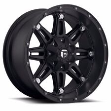 20x10 Fuel Off Road D531 Hostage Black Wheels Rims Chevy Ford GMC Dodge Toyota