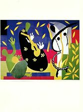 "1973 Vintage MATISSE ""THE SORROWS OF THE KING"" MUSIC THEME offset Lithograph"