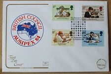 1984 Cotswold GB First Day Cover with Special Postmark -  British Council