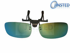 REVO MIRRORED POLARISED POLARIZED FLIP FLIP-UP CLIP ON CLIP-ON SUNGLASSES ACP005