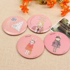1Pc Lady Girl Cute Small Mini Makeup Cosmetic Convenient Pocket Mirror Portable