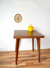 tables carrées pieds compas en teck style scandinave Stella ( 2 disponibles)