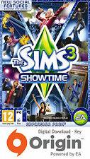 Les sims 3 showtime expansion pack mac et pc origin key