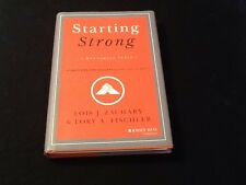 Starting Strong By Zachary, Lois J./ Fischler, Lory A. 1st edition Signed