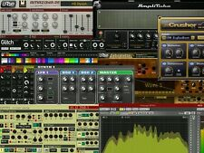 6GB PRO VST VSTi Plugins Effects Instruments Cubase Reason Ableton Fruity 2DVDs