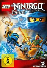LEGO NINJAGO : SEASON 6 Part 1   - DVD - PAL  Region 2 - New Sealed