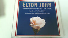 "ELTON JOHN ""SOMETHING ABOUT THE WAY YOU LOOK TONIGHT"" CD 3 TRACKS"