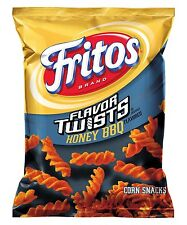 Fritos Honey BBQ Twists Flavored Corn Chips 9 3/4oz - 3 Bags