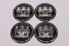4pcs JP Junction Produce Car Wheel Center Hub Cap Badge Aluminum Decal D022