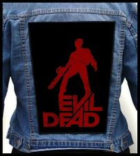 EVIL DEAD #2 --- Giant Backpatch Back Patch / Classic 80's Horror Gore S-Mart