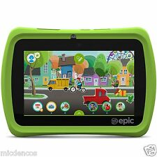 "LeapFrog Epic 7"" Android-based Kids Tablet 16GB, Green,Designed To Grow W/Child"