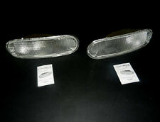 VW NEW BEETLE 98 - 05 PAIR CLEAR FRONT INDICATOR REPEATER LIGHTS LEFT + RIGHT
