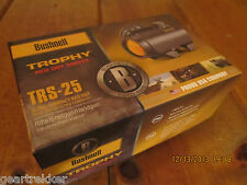 Bushnell TRS-25 GOLD model Trophy Red Dot Scope 1X25 731303 NEW Amber-Bright LED