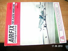 £!£ Airfix Magazine For Plastic Modellers April 1971 Harrier Mk2 Isherman tank