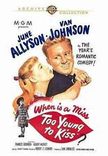 Too Young to Kiss (DVD, 2014)