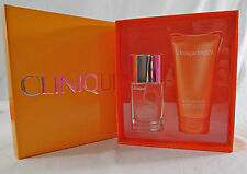 Clinique Twice As Happy Gift Set Perfume & Body Smoothing Lotion Sold Out
