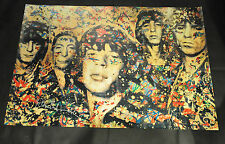 MR BRAINWASH THE ROLLING STONES Lithographic Poster 2012