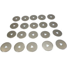 20pc Rotary Cutter Blades 28mm Cut Circular Blade Patchwork Fabric Leather Craft