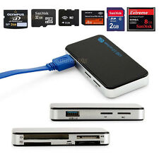 6in1 USB3.0 Super Speed CF Micro SD MS XD Flash Multi Memory Card Reader Adapter