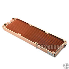 360 Radiator Full Copper 25mm Thick G1/4 Thread For PC Liquid Water Cooling