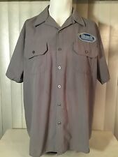 Buell American Motorcycles Shop Mechanic Employee Work Shirt L 2 Patches