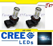 CREE LED 80W 9006 HB4 WHITE 6000K TWO BULB HEAD LIGHT REPLACEMENT SHOW COLOR